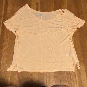 Peach American Eagle tee shirt